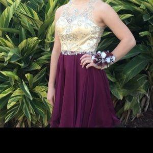 Homecoming dress. Alyce. Sz 2